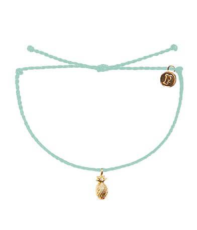 Pura Vida Pineapple Bitty Charm Bracelet