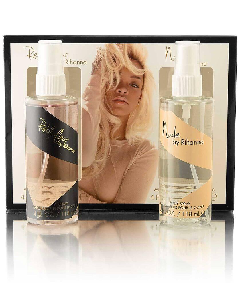 Rihanna Body Spray Gift Set front view