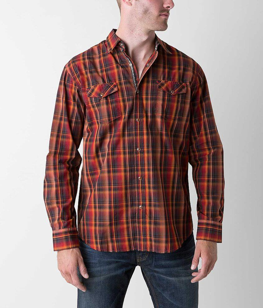 Age of Wisdom Plaid Shirt front view