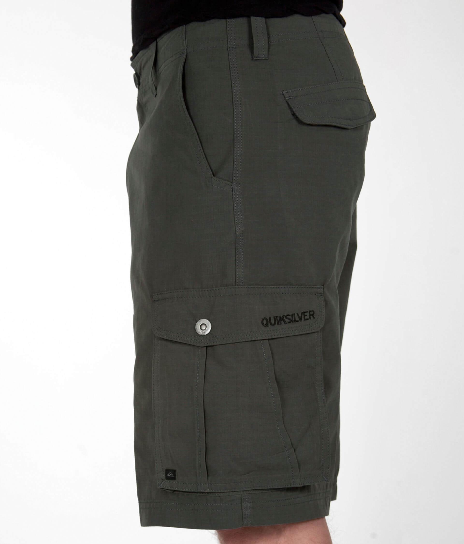 0efc6227c7976d Quiksilver Nomad Cargo Short - Men's Shorts in Gunsmoke   Buckle