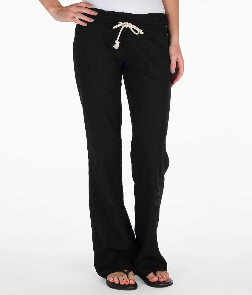 8dd66741a5 Roxy Ocean Side Beach Pant - Women's Pants in Black | Buckle