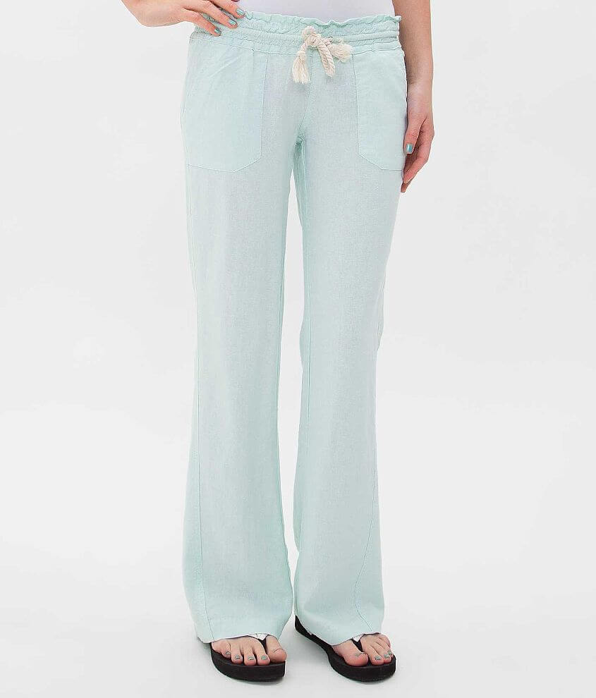 151fe26d75 Roxy Ocean Side Beach Pant - Women's Pants in Moon Light Jade | Buckle