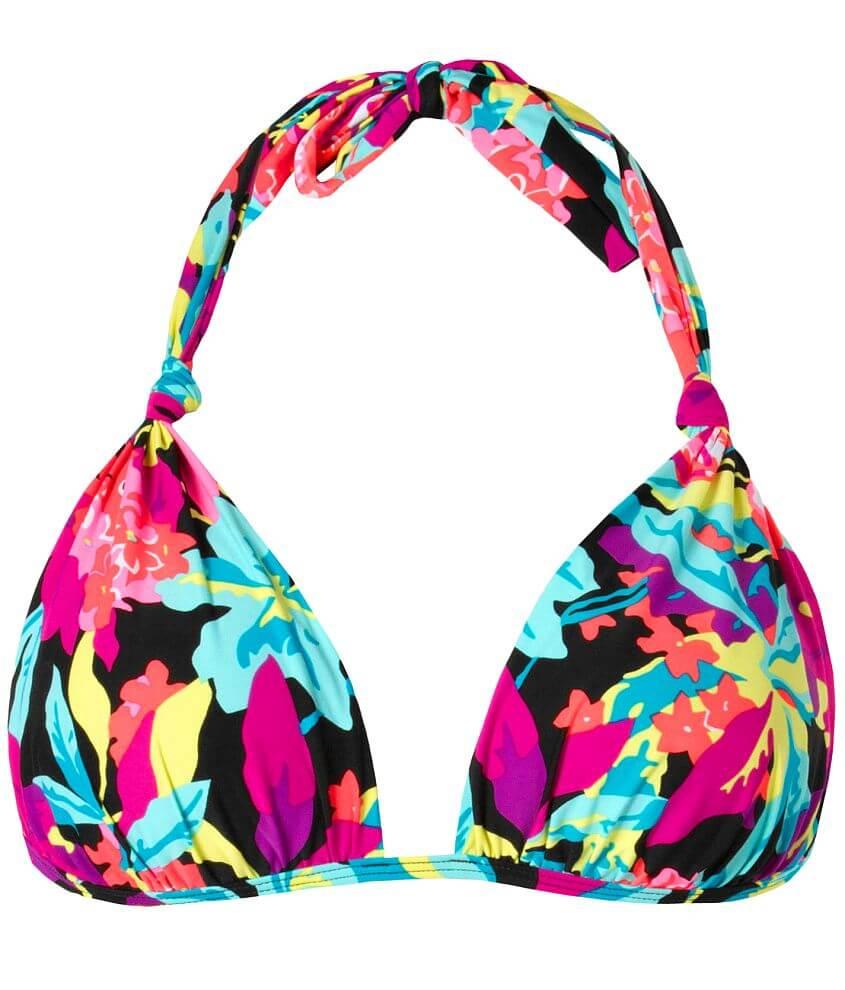 Roxy Tropic Tango Swimwear Top front view