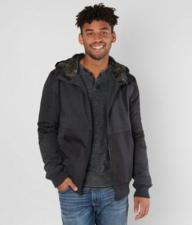 Buckle Black Charge Hooded Jacket