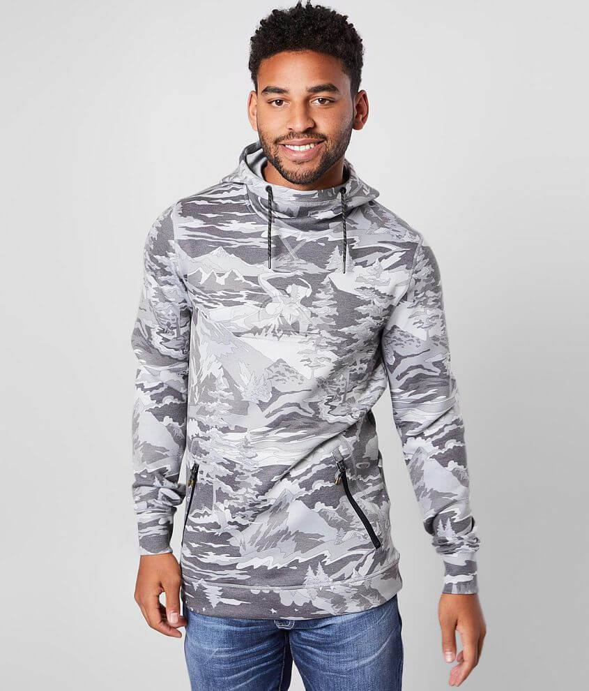 Quiksilver Freedom Hooded Sweatshirt front view
