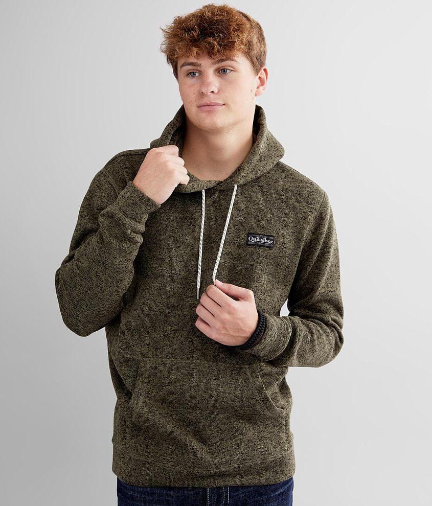 Quiksilver Keller Hooded Sweatshirt front view