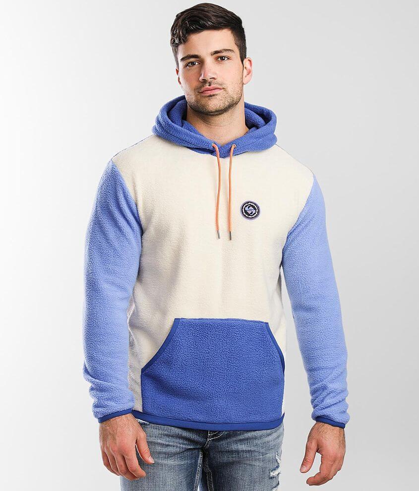 Quiksilver Clean Coasts Fleece Hooded Sweatshirt front view