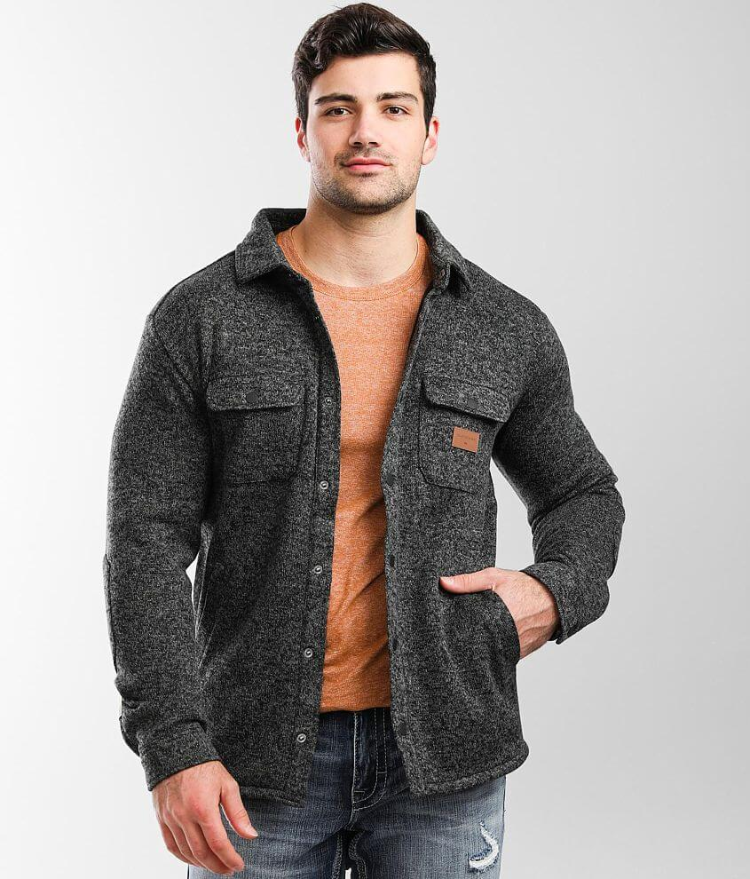 Quiksilver Keller Sweater Knit Shirt front view