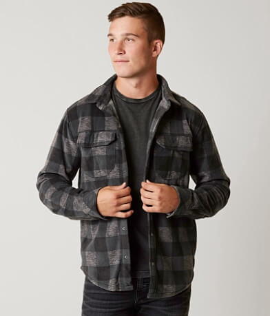 Quiksilver Surf Days Flannel Sweatshirt