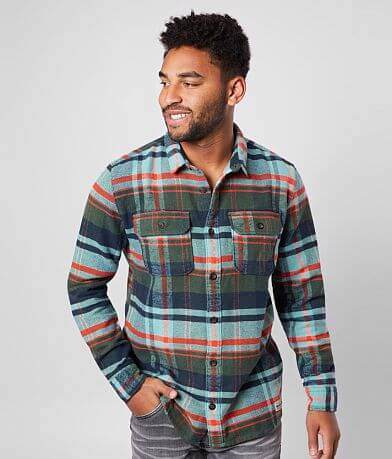 Quiksilver Howe Waters Flannel Shirt