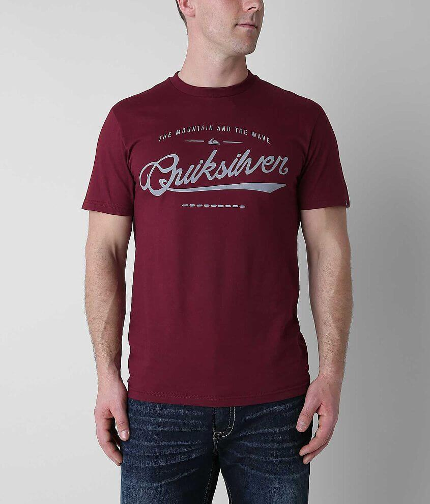Quiksilver Crimson Wave T-Shirt front view