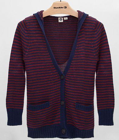 Roxy Shadow Diamonds Cardigan Sweater