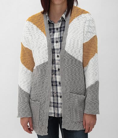 Roxy Open Weave Cardigan Sweater