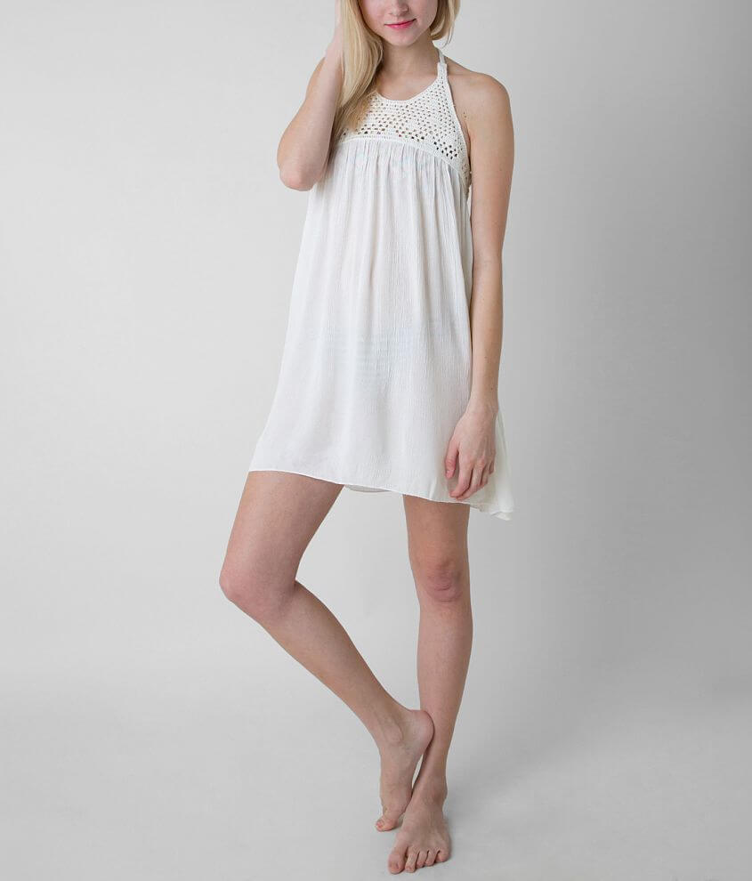 Roxy Sand Dollar Swim Cover-Up front view