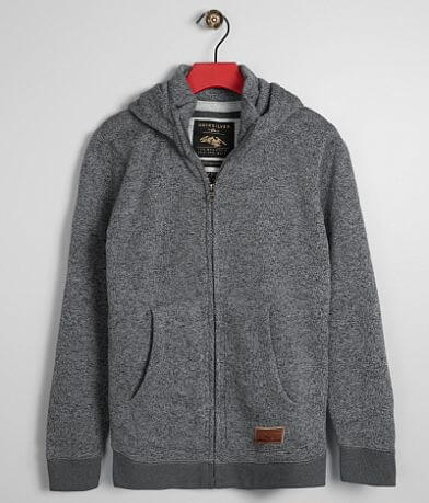 Boys - Quiksilver Keller Knit Hooded Sweatshirt