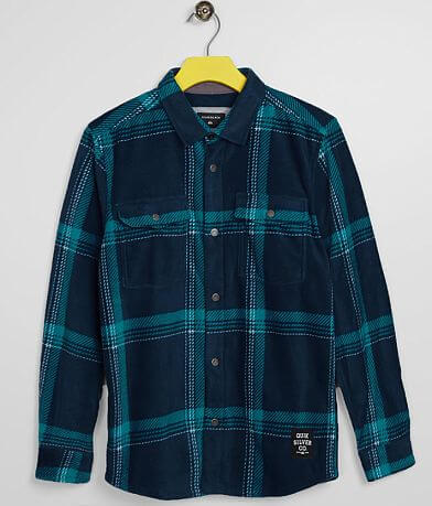 Boys - Quiksilver Surf Days Polar Fleece Shirt