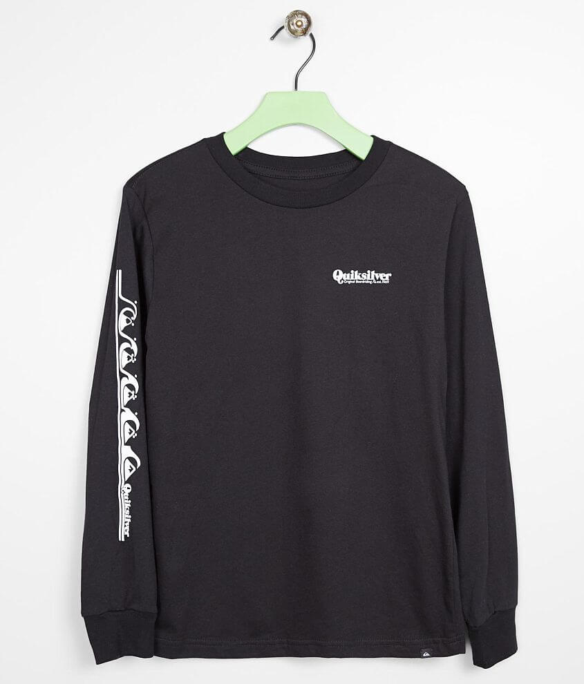 Boys - Quiksilver Modern Script T-Shirt front view