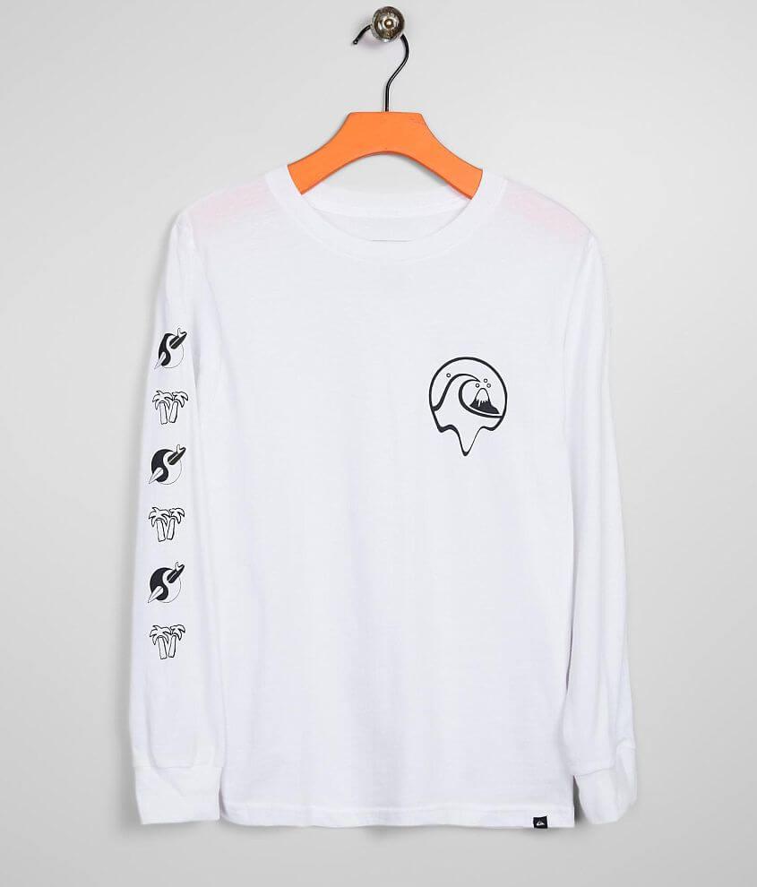 Boys - Quiksilver Strange Times T-Shirt front view