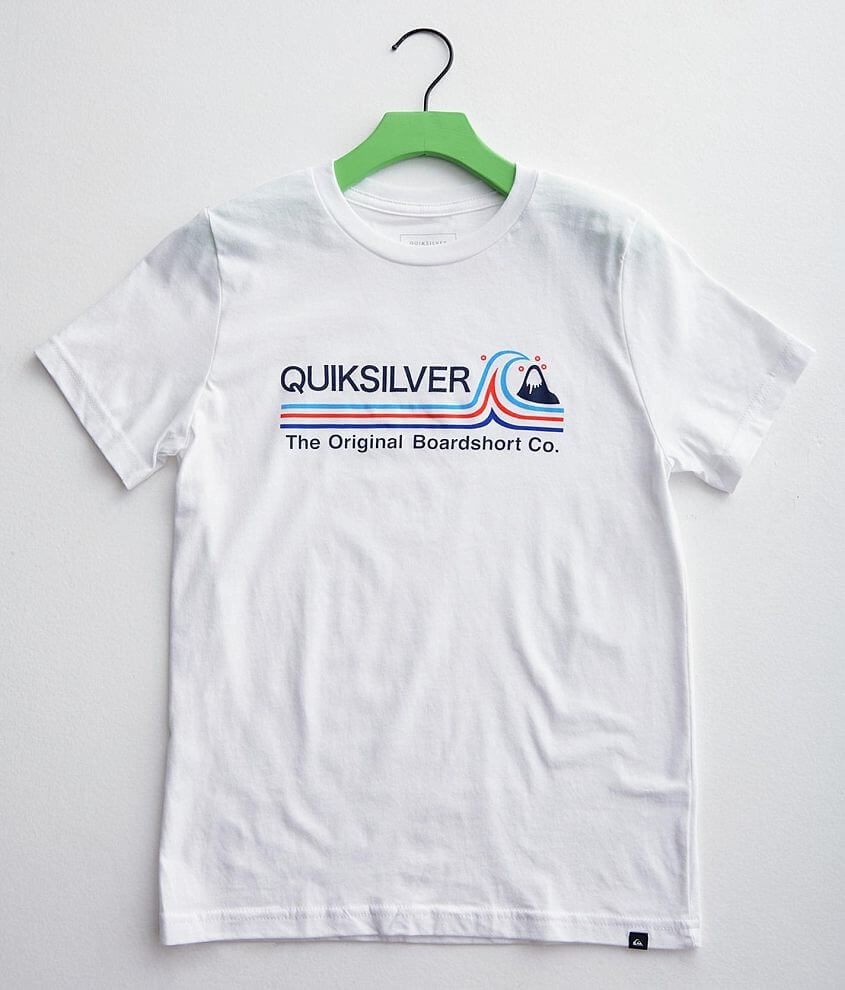 Boys - Quiksilver Stone Cold T-Shirt front view