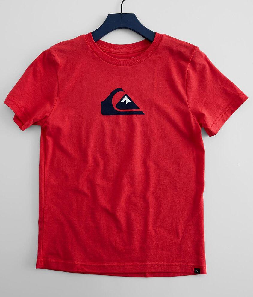 Boys - Quiksilver Comp Logo T-Shirt front view