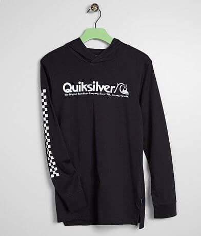 Boys - Quiksilver Checkers Mate Hoodie