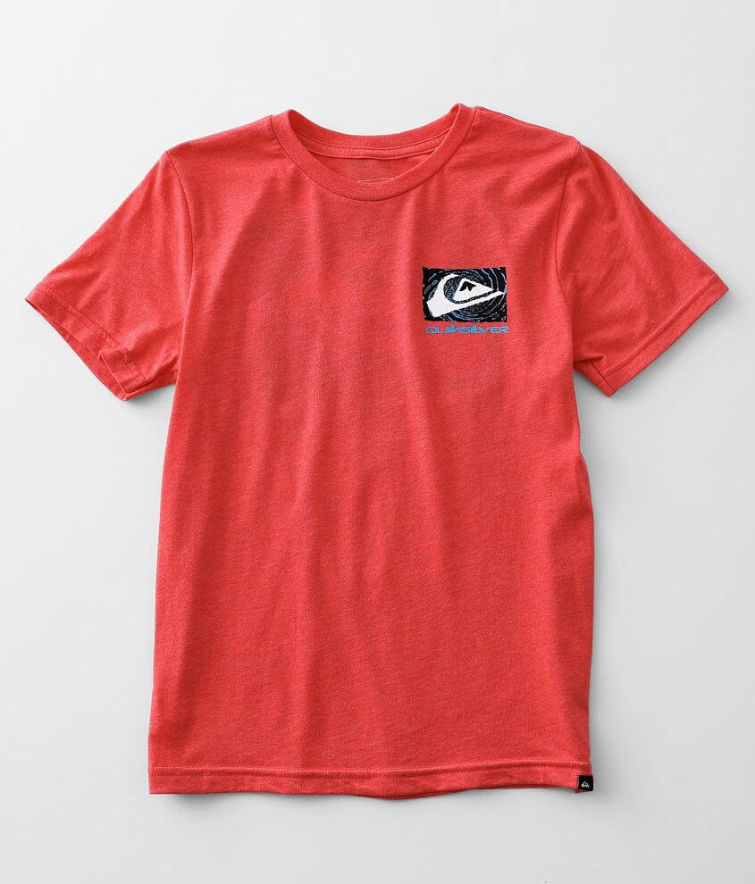 Boys - Quiksilver Twisted T-Shirt front view