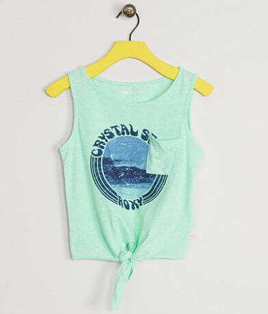 Girls - Roxy Crystal Seas Tank Top