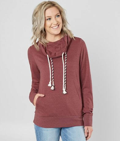 BKE Lightweight Knit Double Cord Pullover