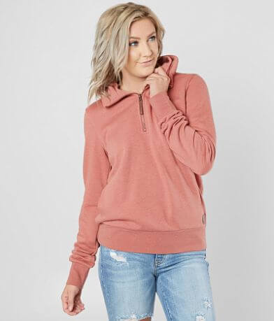 BKE Mock Neck Quarter Zip Pullover