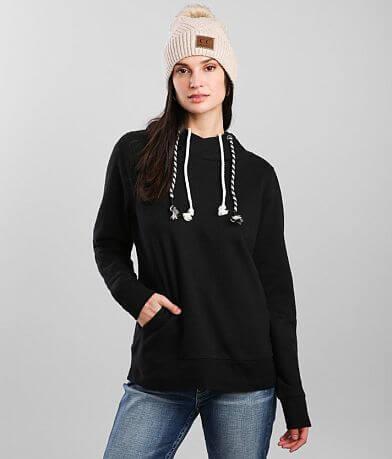 BKE Double Drawcord Hooded Sweatshirt