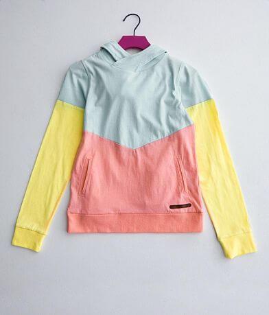 Girls - BKE Color Block Hoodie