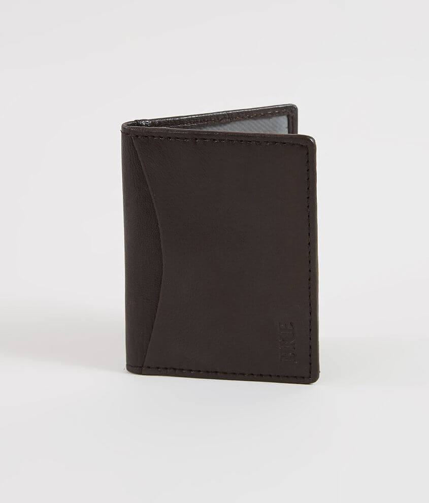 BKE Rem Leather Wallet front view