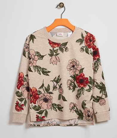 Girls - Daytrip Floral Sweatshirt