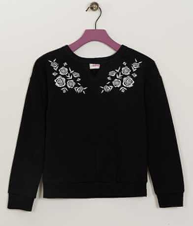 Girls - Daytrip Floral Sweatshirt