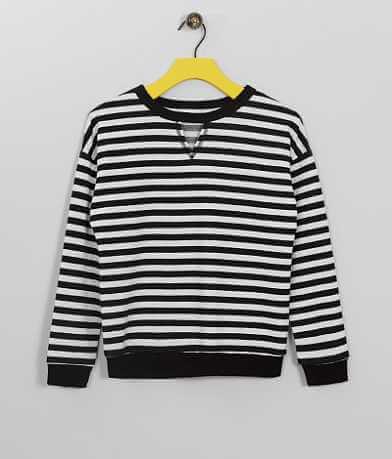 Girls - Daytrip Striped Sweatshirt