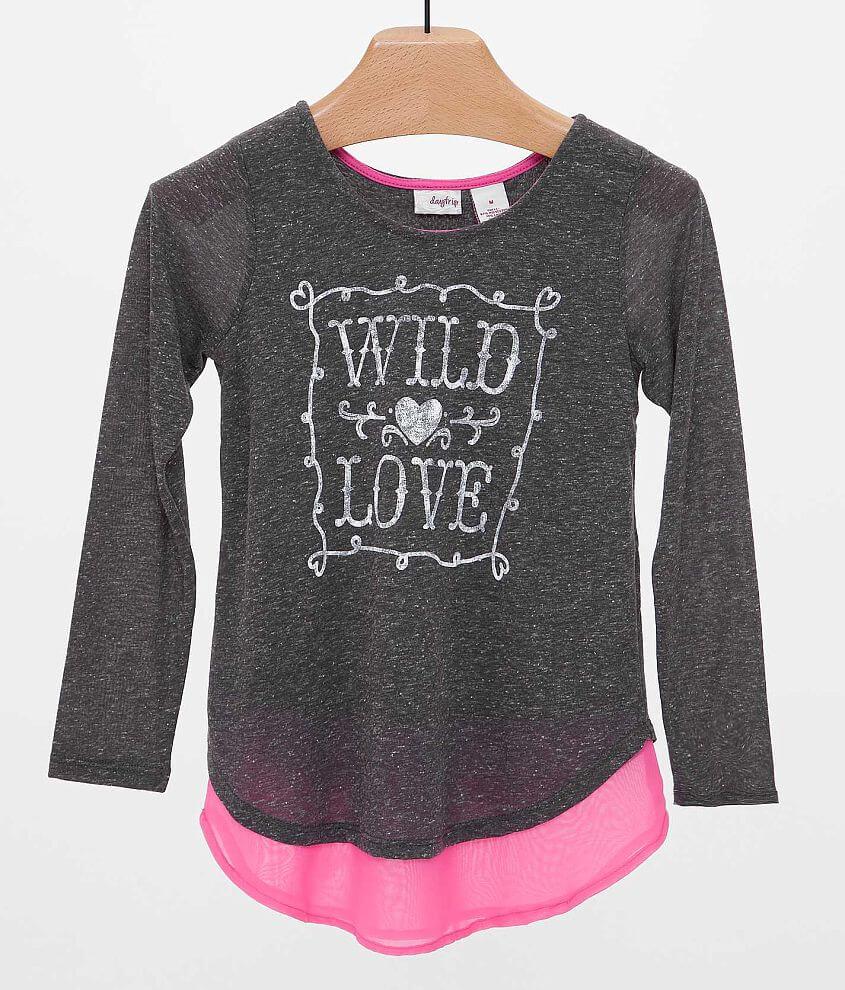 Girls - Daytrip Wild Love Top front view