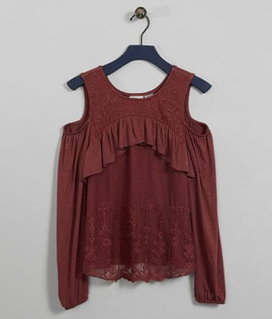 Girls - Daytrip Cold Shoulder Top