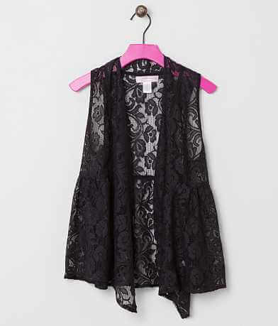 Girls - Zoe & Rose Lace Vest