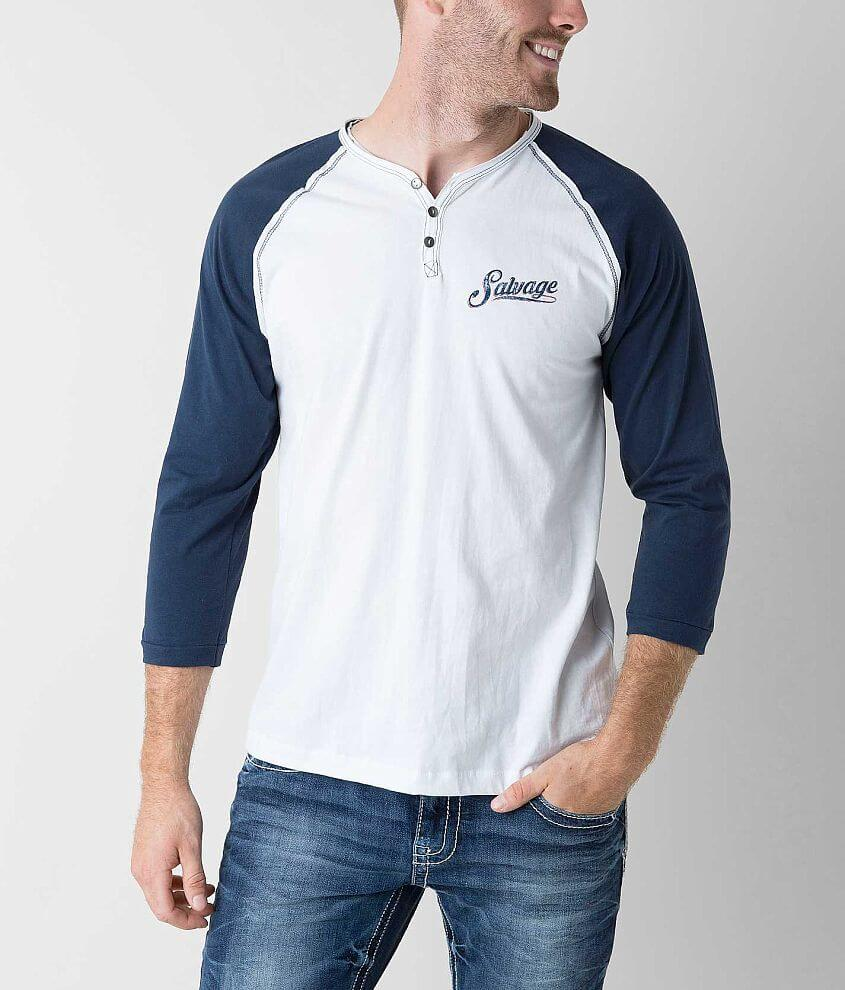 Salvage Safety Henley front view