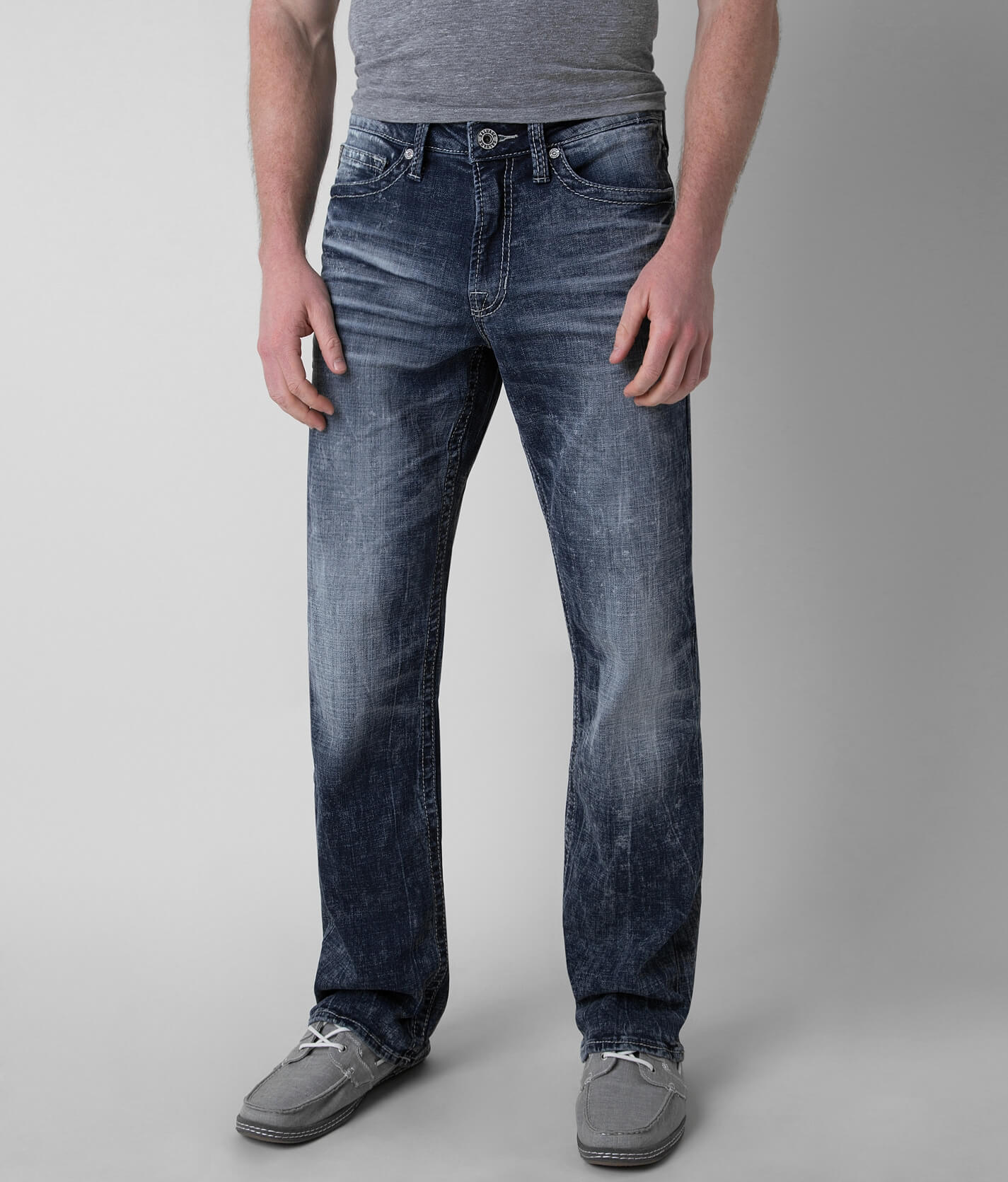 Salvage Anarchy Relaxed Straight Stretch Jean