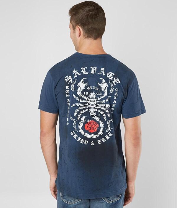 Salvage Scorp Scorp Salvage Shirt T rOw4rqB