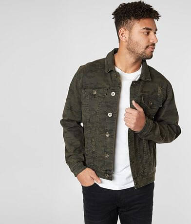 Waimea Camo Denim Stretch Jacket
