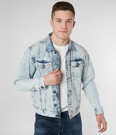 Waimea Acid Washed Denim Jacket