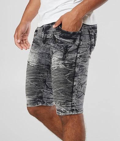 Waimea Washed Moto Stretch Short