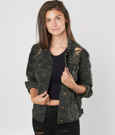 Waimea Camo Denim Jacket