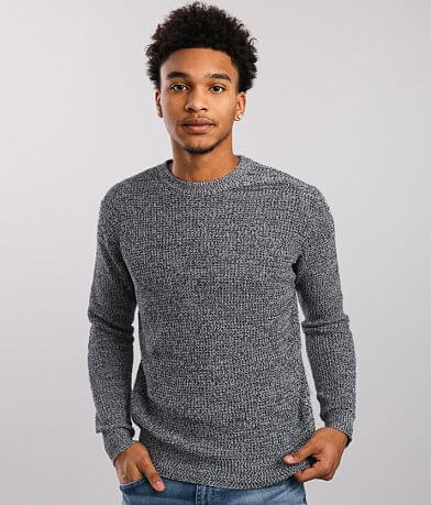 HEDGE Twisted Yarn Shaker Sweater