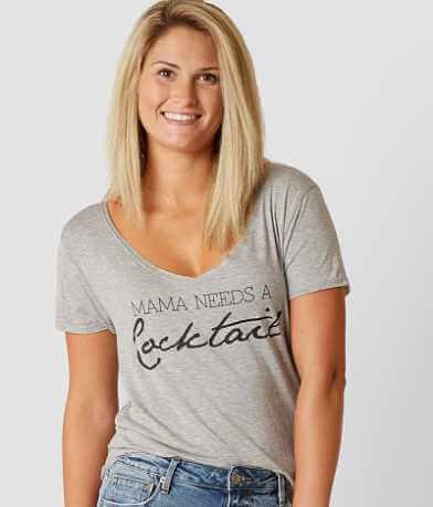 twine & stark Mama Needs A Cocktail T-Shirt