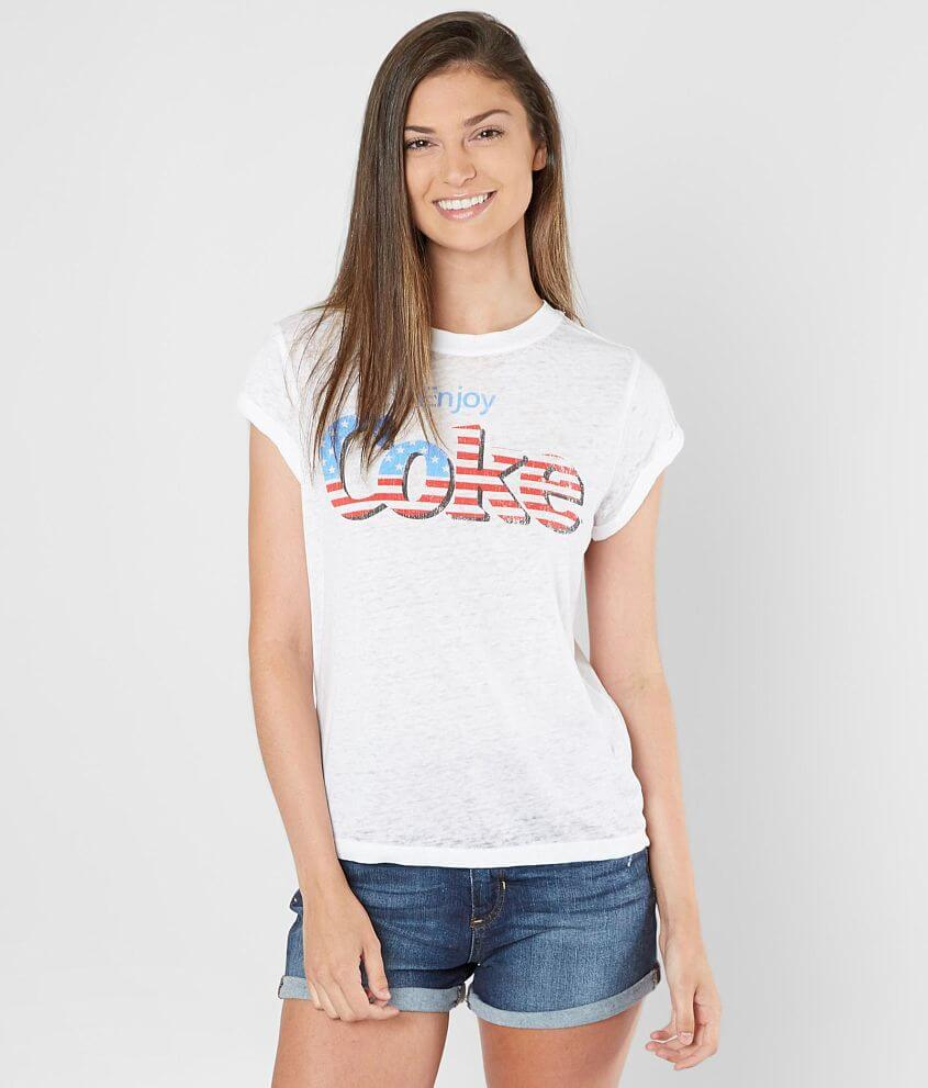 Recycled Karma Enjoy Coke® T-Shirt front view