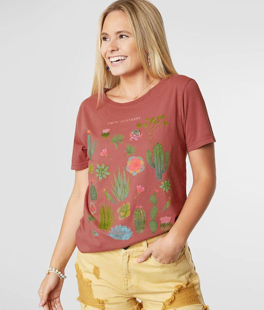 Project Karma Cacti Succulent T-Shirt