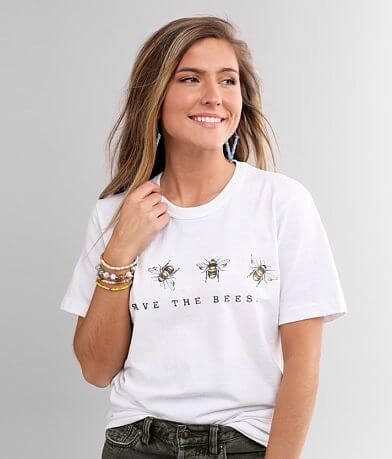 Recycled Karma Save The Bees T-Shirt